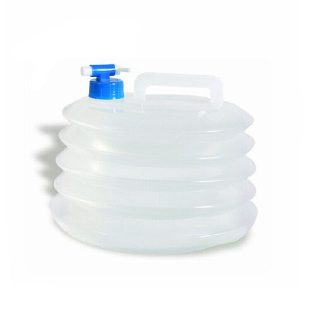 3L 5L Collapsible Water Storage Carrier Container for Camping Hiking Climbing