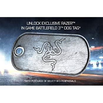 Razer Blackwidow Ultimate Mechanical Gaming Keyboard - Battlefield 3 Edition (RZ03-00381700-R3M1)