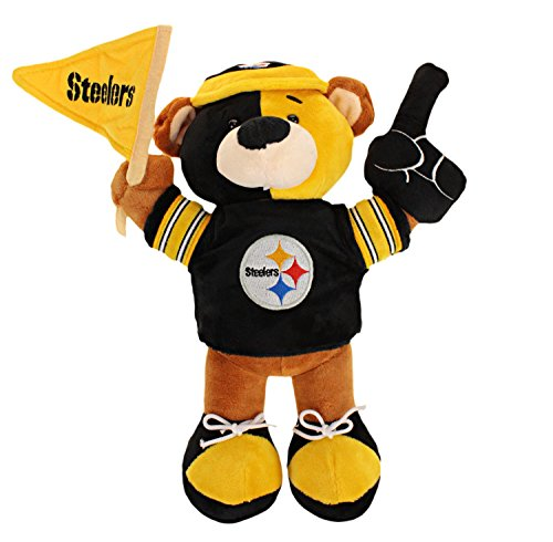 (Pittsburgh Steelers Plush Fan Bear )