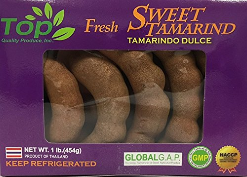 Top Quality Fresh Thailand Sweet Tamarind Fruit (1lb)