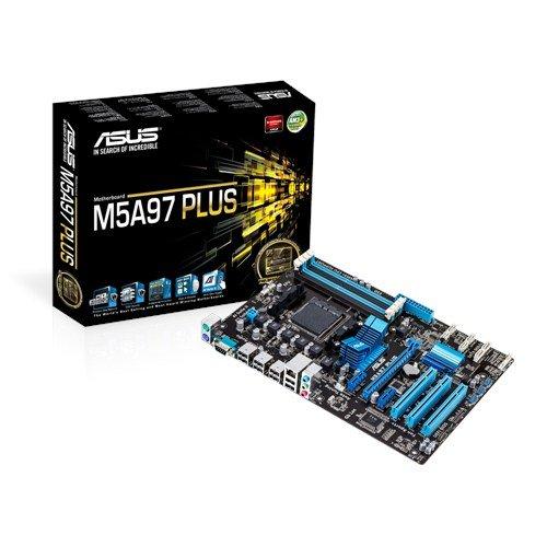 12 opinioni per Asus AM3+ M5A97 Plus Scheda Madre AMD, ATX, 4xD3 2133, USB 2.0, SATA 3, Nero