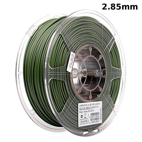 Kg 1 Filament Spool (eSUN 3mm Olive Green PLA Pro (PLA+) 3D Printer Filament 1KG Spool (2.2lbs), Actual Diameter 2.85mm +/- 0.05mm, Olive Green)
