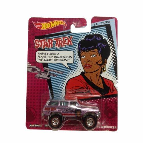 Hot Wheels 2013 Star Trek Pop Culture Lt. Uhura 1988 Jeep Wagoneer Die-Cast Car - Jeep Wagoneer Toy