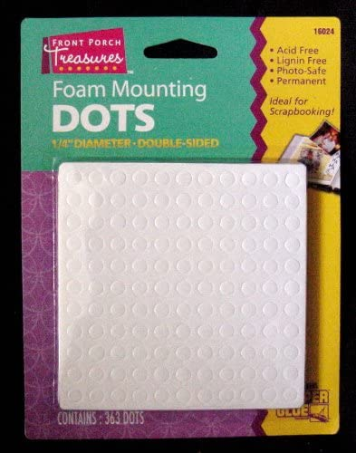 Acid Free Stick it Double Sided Adhesive 3D Foam Dots