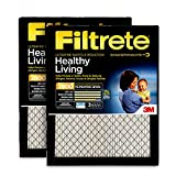 Filtrete 16x25x1, AC Furnace Air Filter, MPR 2800, Healthy Living Ultrafine Particle Reduction, 2-Pack