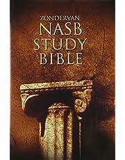 NASB, Zondervan NASB Study Bible, Hardcover, Red Letter