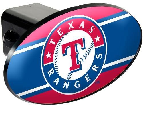 MLB Texas Rangers Trailer Hitch Cover -