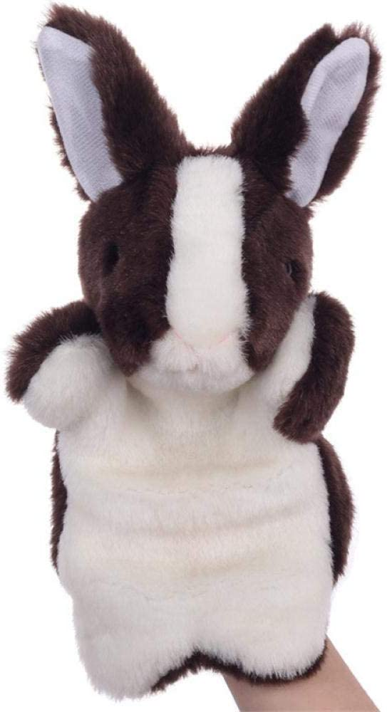 GHTYN Hand Puppet Cute Baby Toy Animal Finger Puppet Plush Toys Cartoon Biological Child Baby for Birthday Gift for Telling Story,Kawaii Plush 4