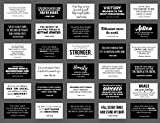 Wonderful gift cards with 30 famous motivational quotes.