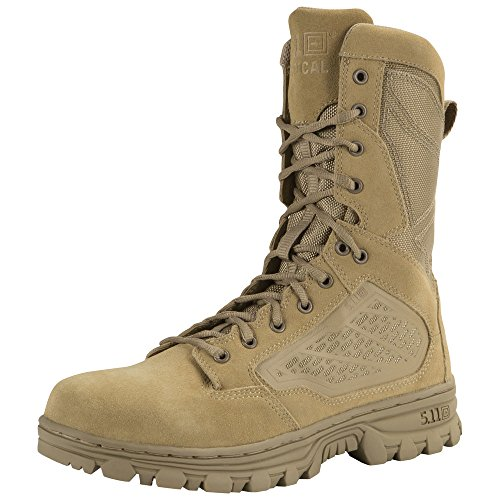 5.11 Mens Evo 8 Desert Side Zip Militaire Et Botte Tactique Coyote