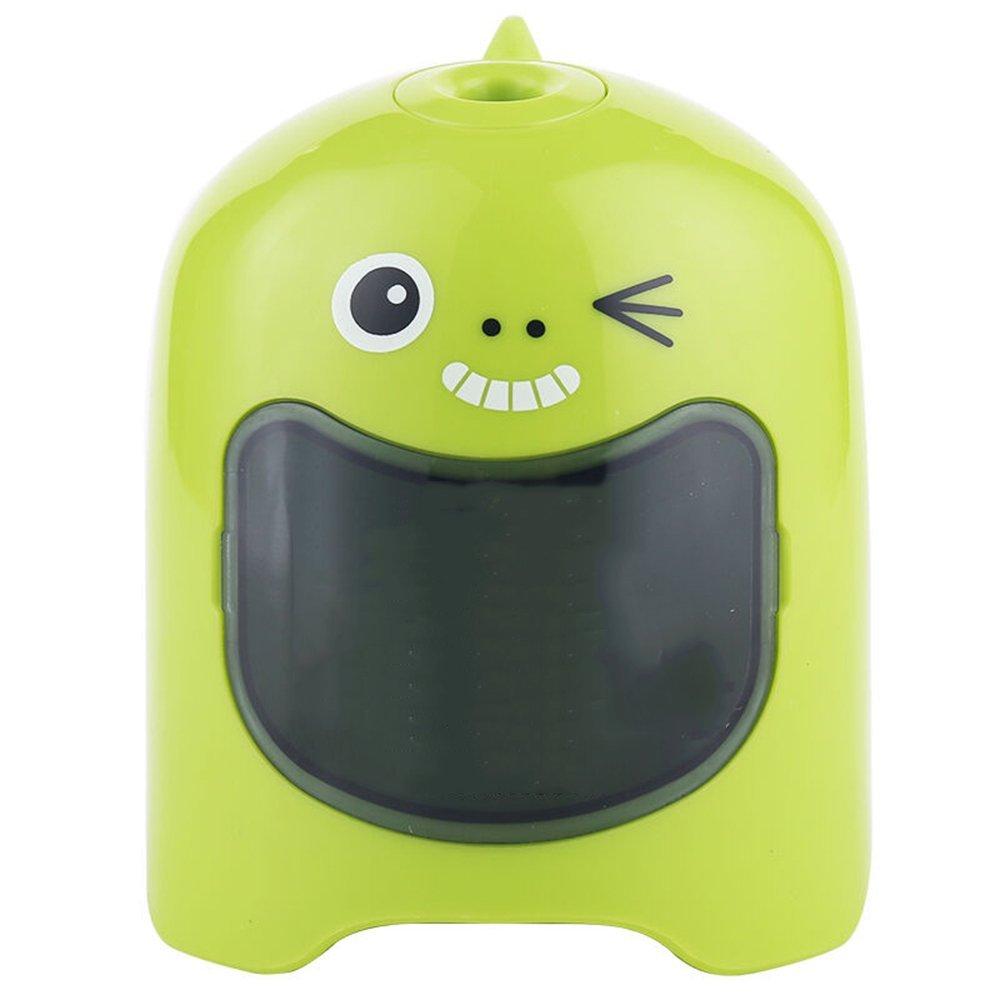 Temperamatite elettrico temperino elettrico per bambini ufficio scuola Automatica Affilatura Precisa Veloce Matita per Temperino Matite Colorate Alimentato da USB o 2xbatterie-Blu,di CNASA