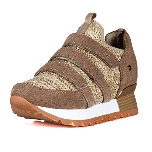 Interna Beige Sneakers Cuña Con Zapatillas Gioseppo Beig 43312 ZUwqxYt