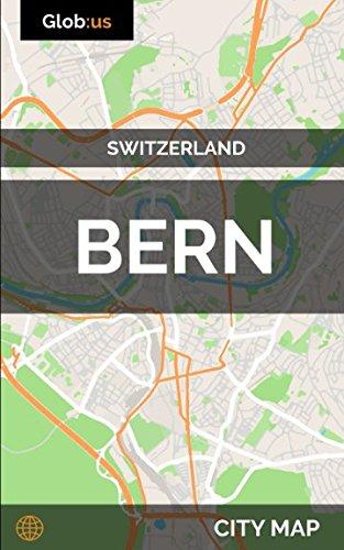 Bern, Switzerland - City Map