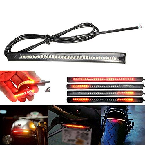 AMBOTHER Universal LED Light Strip Tail Trailer Brake Stop Turn Signal 48-3528 SMD 8