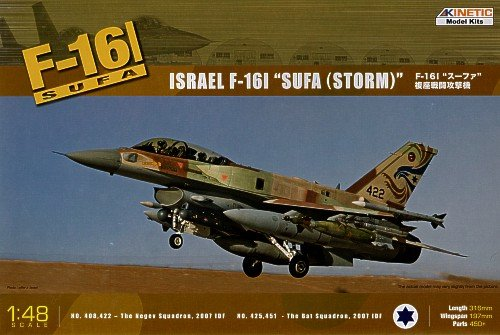Kinetic K48006 - F-16I Surf Flugzeug