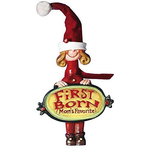 Moms Favorite Christmas Ornament First Born Girl W1720-F Kurt Adler