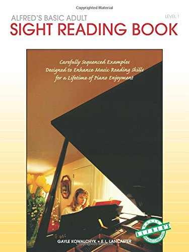 Alfred's Basic Adult Piano Course Sight Reading, Bk 1