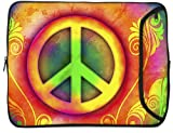 Designer Sleeves Peace iPad Case and Other Tablets (10DS-PEAC)