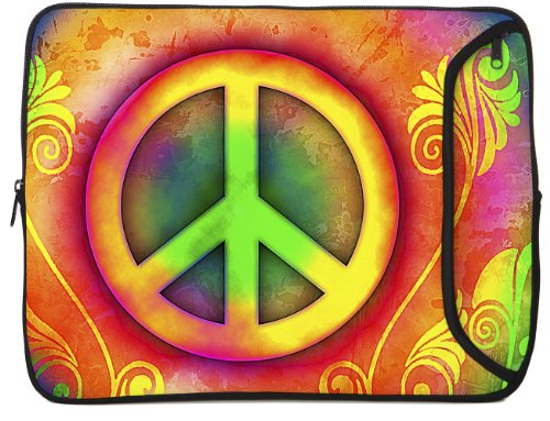 Designer Sleeves Peace iPad Case and Other Tablets (10DS-PEAC) by Designer Sleeves