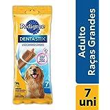 Petisco Funcional Para Cachorros Pedigree Dentastix Cuidado Oral Adultos Raças Grandes 7 Sticks 270g