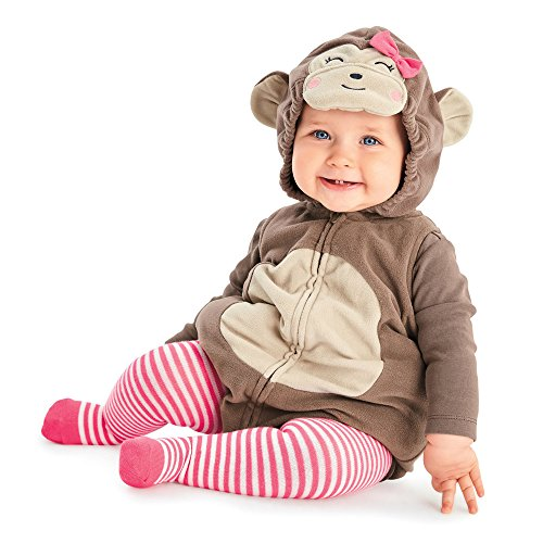 Boo Costume Toddler (Carter's Baby Girls' Halloween Costume (24 Months, Monkey))
