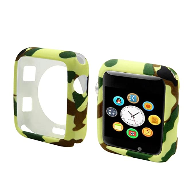 Winner Smartwatch Funda Universal Camuflaje Silicona Funda ...