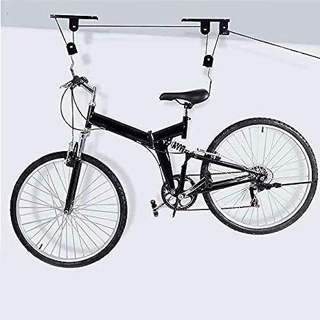 SHOP-STORY - Soporte Elevador de Bicicleta de Techo + Fijaciones y ...