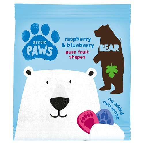 Bear Fruit Paws Arctic Rasperberry & Blueberry 20g Yo Yo Bear PAWFRAM20G