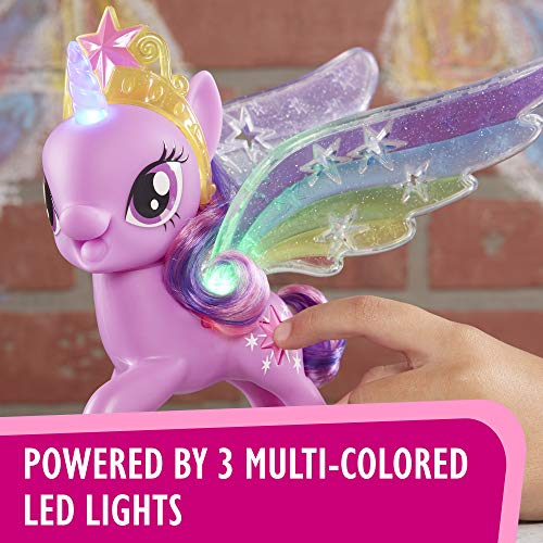 b0dd6ea34bb My Little Pony Rainbow Wings Twilight Sparkle -- Pony Figure with Lights   Moving  Wings