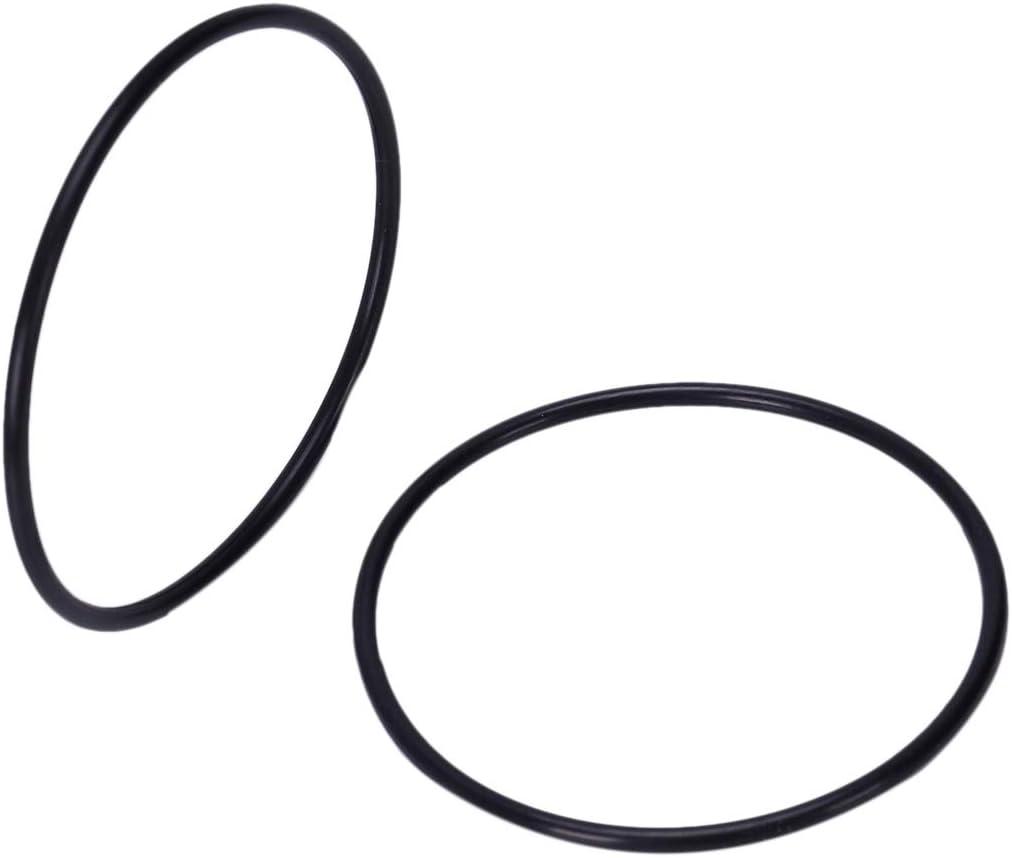 Kuinayouyi 10 PCS Schwarz Gummi Oil Seal O-Ring Dichtung Unterlegscheiben 42x3x36mm