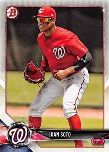 2018 Bowman Prospects #BP52 Juan Soto Washington Nationals Baseball Card