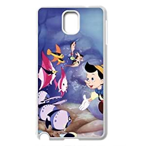 Cartoon Movie The Adventures of Pinocchio Pattern Productive Back Phone Case For Samsung Galaxy NOTE3 Case Cover -Style-18