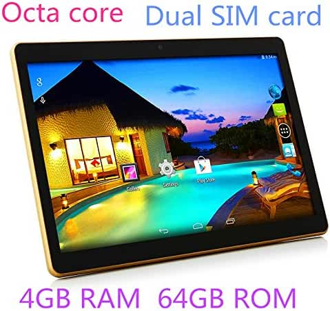 TYD 10.1 inch Tablet Android 6.0 GPS Octa Core 2560X1600 IPS Bluetooth RAM 4GB ROM 64GB 13.0MP 3G Phone Call Tablets PC Dual sim card TYD-107-Black