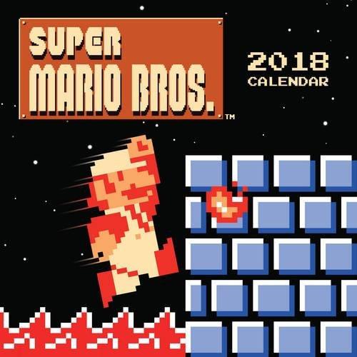 super mario bros wall calendar retro art art from the 読書メーター