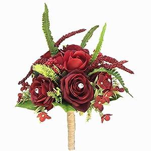 DALAMODA Bridal Bouquet-A 16