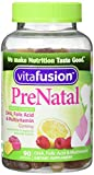 Vitafusion Pre Natal Gummy Vitamins Dietary Supplement, Lemon & Raspberry Lemonade Flavors, 90 Count