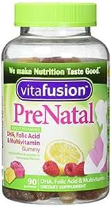 Vitafusion Pre Natal Gummy Vitamins Dietary Supplement, Lemon & Raspberry Lemonade Flavors, 90 Count (Pack of 2)