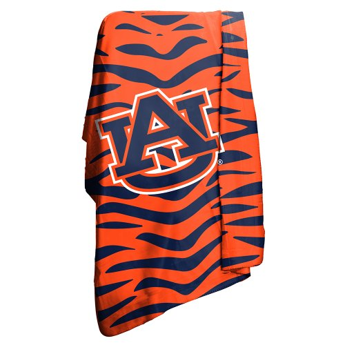 Fleece Tigers Throw Auburn (Auburn Tigers Official NCAA 50 inch x 60 inch Classic Fleece)