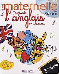 J'apprends l'anglais en chansons 3-6 ans (1CD audio)