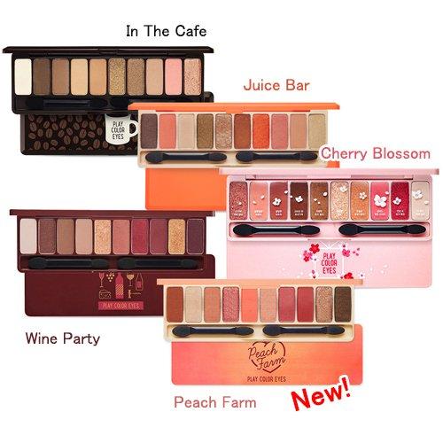 Etude House Play Color Eyes Peach Farm