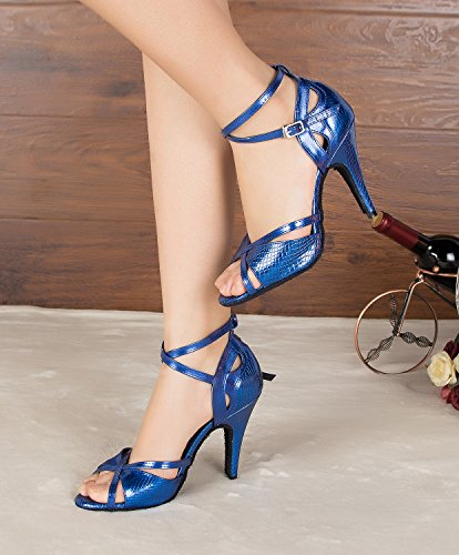Miyoopark Tanzschuhe Damen Miyoopark Damen Blau Blau Tanzschuhe Blau Damen Miyoopark Miyoopark Tanzschuhe Damen Tanzschuhe YnHn1qBgw