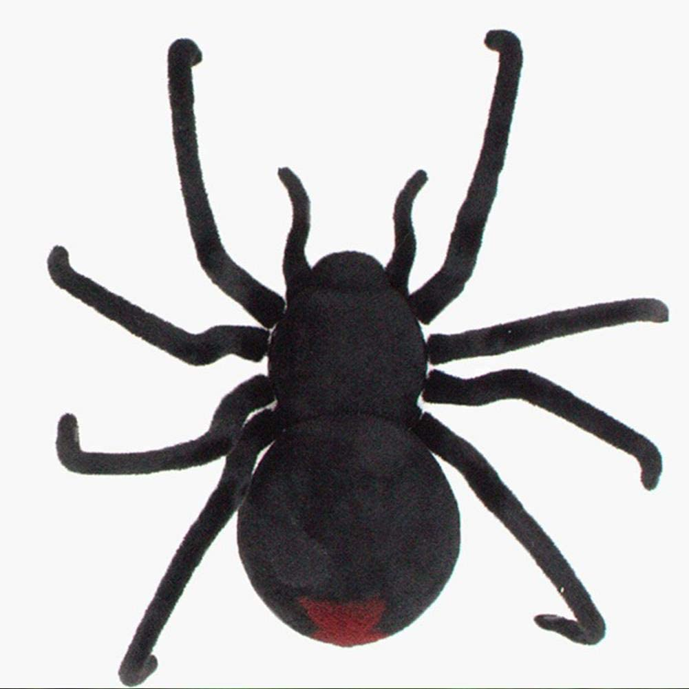 Remote Control Distance 2020 Gift for Boys and Girls Bionic Spider Toy Gift Decor Giant Spider Black Spider rosemaryrose Remote Control Spider//Remote Control Spider Tarantula