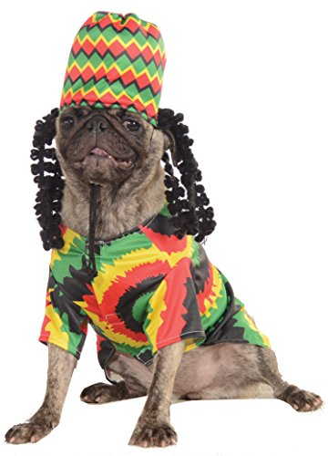 Rubie's Pet Costume, Small, Rasta Dog -
