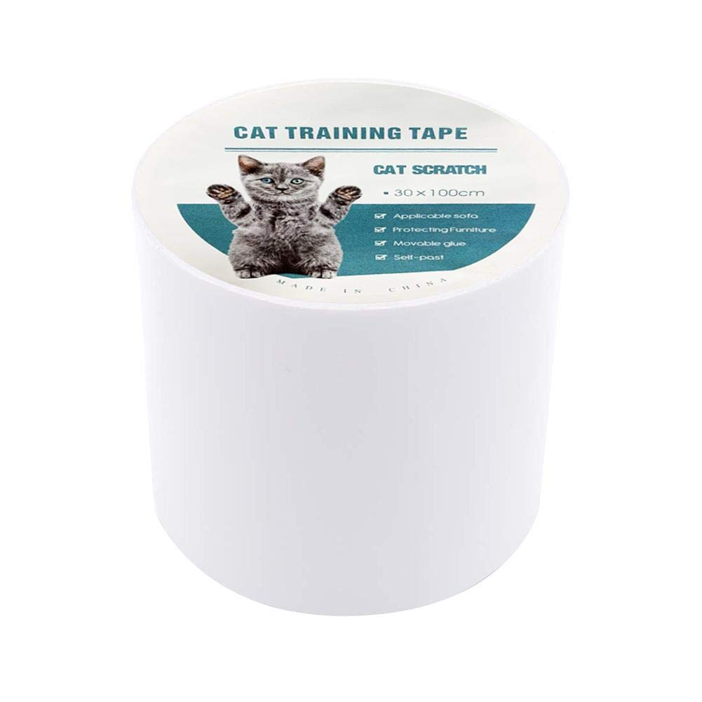 Blue-Yan Anti-Scratch Cat Training Tape Sof/á Protector Anti-Grab Stick Cintas PVC