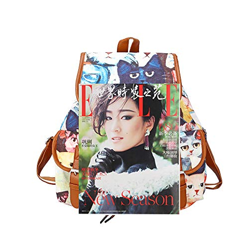 Crazy Promotion!!!♛HYIRI Women Backpack Purse Leather Anti-theft Casual Shoulder Bag -
