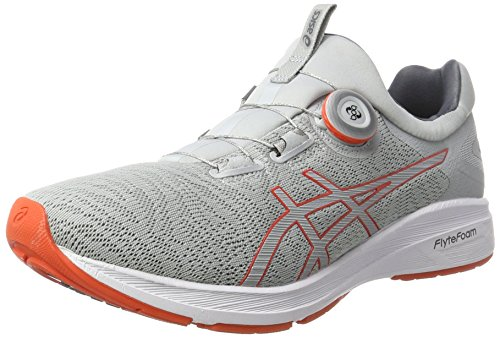Asics Dynamis Chaussures White Grey Carbon mid D'entranement Gris rBrEwqxC