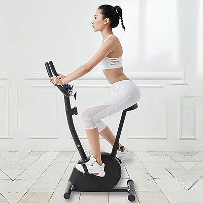 GAYBJ Unisex\'s Exercise Bike Upright Exercise Bike Indoor Studio Cycles Exercise Pedal Bike Aerobic Training Fitness Cardio BIK: Home & Kitchen [5Bkhe0506595]