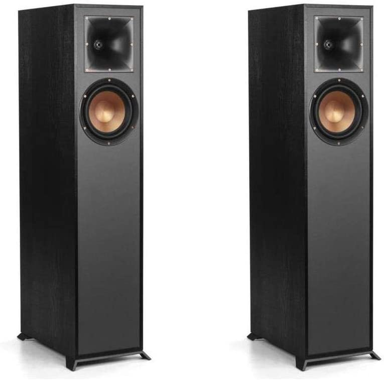 Klipsch 2 Pack R-610F Floorstanding Home Speaker