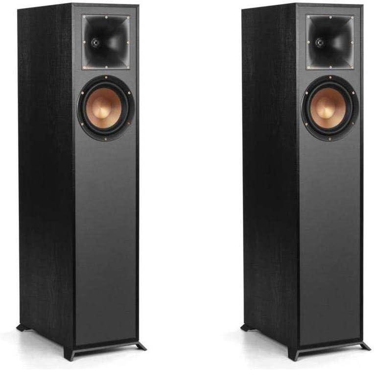 Klipsch 2 Pack R-610F Floorstanding Home Speaker