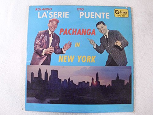 Rolando La'serie Tito Puente Pachanga In New York LP ()